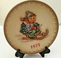 M J Hummel W Goebel 1975 5th Annual Plate Hand Painted West Germany H268