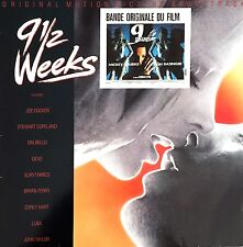 Compilation ‎LP 9 1/2 Weeks - Original Motion Picture Soundtrack - England