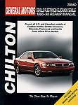 Chilton 28540 Repair Manual Cadillac DeVille Fleetwood Eldorado Seville 90-98