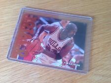 Michael Jordan baloncesto de la NBA Fleer 95-6 Trading Card