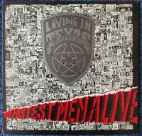 LIVING IN TEXAS - The Fastest Men Alive - Vinyl LP UK 1985