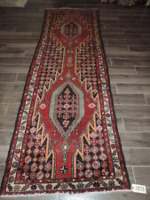 3x10ft. Vintage Persian Malayer Mazelagan Wool Runner