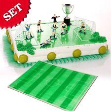 Tortendeko im Set mit Fußballfiguren für Fußball-Mottotorte zum Kindergeburtstag