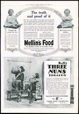 1916 - Antique Print ADVERTISING Mellins Infant Food Bells Three Nuns   (014)