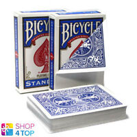 BICYCLE RIDER BACK NO FACE BLANK WHITE MAGIC TRICKS CARDS DECK USPCC BLUE NEW