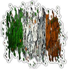 "Ireland Country Flag Irish Grunge Retro Car Bumper Vinyl Sticker Decal 4.6"""