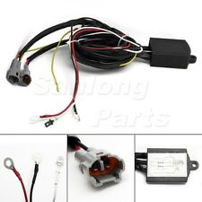 DRL LED Daytime Running Light Relay Harness Automatic On Off Control Switch 12V