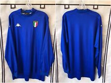 Italy 1998/00 International Home Long Sleeve Soccer Jersey 2XL Kappa