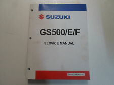 1991 Suzuki GS500/E/F Service Repair Shop Workshop Manual FACTORY Brand New