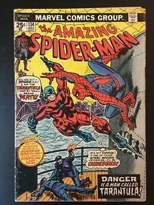 Amazing Spider-Man 134 Key! First App of Tarantula! 2nd App of Punisher!