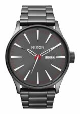 Nixon Sentry SS Watch Gunmetal NEW in box