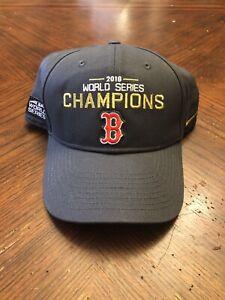 Nike MLB Boston Red Sox 2018 World Series Champions Hat Legacy91 Snapback 1Size