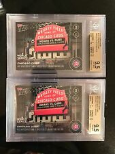 TOPPS NOW #635 CUBS HOST WORLD SERIES GAME  WRIGLEY 1ST TIME SINCE 1945! BGS 9.5