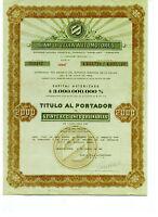 Siam de Tella Automotores S.A. - Aktie - Buenos Aires 1961