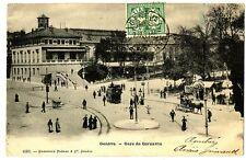 CPA Suisse Lémanique Genève Gare de Cornavin animé