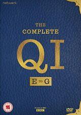 QI: E,F,G 2007-2009: Stephen Fry & Alan Davies E-G Season Series R2 DVD not US