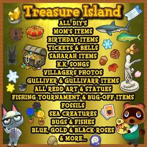 Animal Crossing New Horizons Tesoro Island 1 Hour!New Update 1.11.0 Free Friend