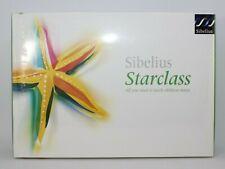 Sibelius starclass 1.0 Musik Software Mac PC OVP