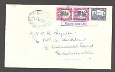 SOUTH AFRICA 1951 (4 May) Rail Post - Cover to - 99584