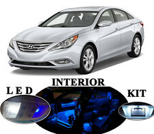 LED Package - Interior + License Plate + Vanity for Hyundai Sonata (10 pieces)
