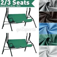 Swing Cover Chair Waterproof Cushion Patio Garden Outdoor 2/3 Seat   1   9