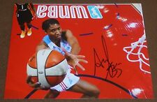 Angel Mccoughtry Signed Atlanta Dream 8x10 inch Photo Wnba Basketball