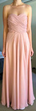 Custom made ball gown- dusky pink- size 8
