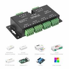 SP901E LED Pixel Strip WS2812B WS2811 ETC SPI Signal Amplifier Repeater DC5V~24V