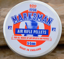 Marksman Airgun Pellets .22 Domed Air rifle / pistol pellets