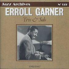 CD NEUF scellé - Trio & Solo  Erroll Garner   -C17