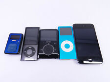 Apple iPod & Mp3 Players Mixed Lot Sold As Is for Parts Repair Nano Sansa Touch