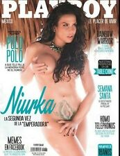 (D) PLAYBOY  MEXICO NIURKA MARCOS MARZO MARCH 2014 PLAYBOY MEXICAN EDITION