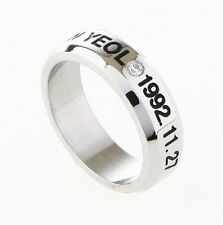 EXO-K CHAN YEOL EXO FROM PLANET STAINLESS STEEL RING NEW FREE SHIPPING