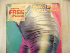 HERMAN BROOD WILD ROMANCE double lp green vinyl ariola  5054 uk issue