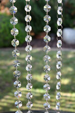 5 Metre Hanging Beaded Garland Wedding Table Centrepiece Decoration Shabby Chic
