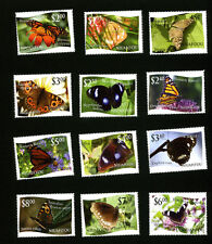 "Niuafo'ou 2012 Butterfly Definitives Single Stamps Set - Dropped ""L"" Variety"