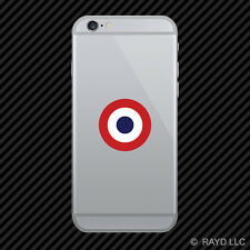 French Air Force Roundel Cell Phone Sticker Mobile CDAOA France FRA FR