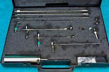Vintage Industrial Endoscopia Kit. Endoscopio adjuntos en Estuche