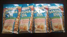 Hawaii Mauna Loa Honey Roasted Macadamia Nut-4 Bags (10 oz per bag)