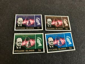 PITCAIRN STAMPS SCOTT 56-59 MHOG SCV 19.75 C1046