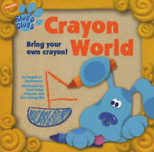 Blue's Clues: Crayon World, Kessler, Todd, Santomero, Angela, 0743449991, New Bo