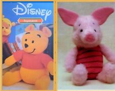 Disney winnie the pooh and Piglet toy knitting pattern. Vintage