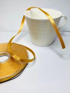Eleganza Gold RIBBON  double sided  Ribbon 3mm 6mm 10mm 15mm 25mm 38mm