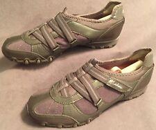 Women's shoes Sketchers Slip On's Walking Hiking Flats Velcro Straps Sz 7