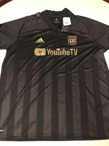 Adidas Soccer Jersey Official MLS Los Angeles Football Club YouTube 2XL XXL $98