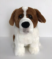 "Applause Lou Rankin Friends Alps St Bernard Dog Plush Stuffed Animal 12"""