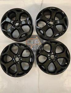 "Genuine Ford Focus ST MK2 18"" snowflake alloy wheels professionally refurbished"