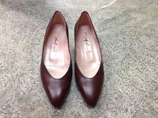 Vintage Amalfi Women's Size 9 B Kaitlin Brown Tuscan, Leather, Made In Italy