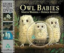 Martin Waddell  OWL BABIES  Brand NEW (Gr8 Bedtime story) PB Storybook & DVD