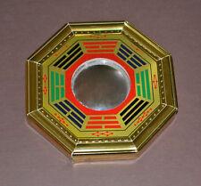 Feng Shui Wooden Ba Gua Traditional Mirror